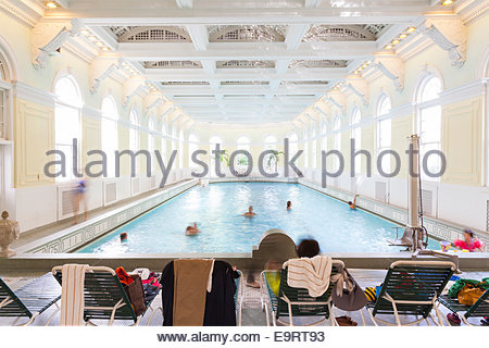 Hallenbad, The Homestead Resort. - Stockfoto