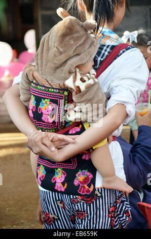Hmong oder Mong Leute - Stockfoto