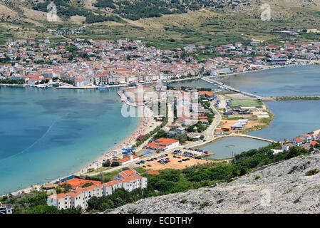 Stadt Pag, Kroatien - Stockfoto