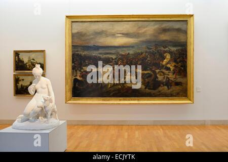 Frankreich, Meurthe et Moselle, Nancy, Stanislas Platz, Museum der schönen Künste, der Schlacht von Nancy (1831) - Stockfoto