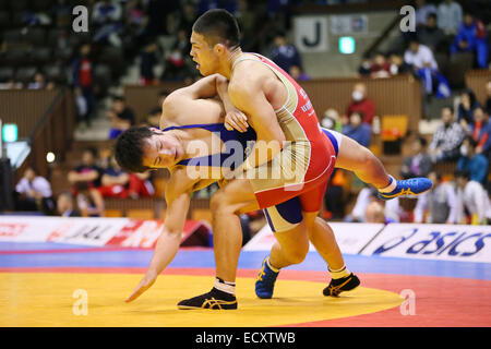 Nd Yoyogi Gymnasium, Tokio, Japan. 21. Dezember 2014. Taichi Oka, 21. Dezember 2014 - Ringen: All Japan Wrestling - Stockfoto