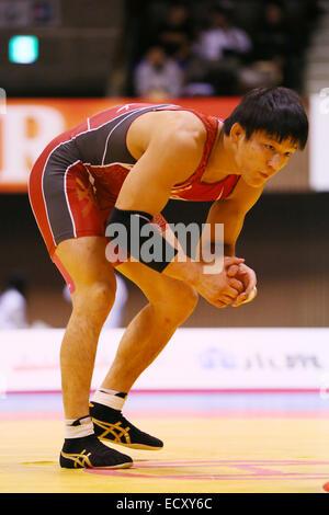 Nd Yoyogi Gymnasium, Tokio, Japan. 21. Dezember 2014. Atsushi Matsumoto, 21. Dezember 2014 - Ringen: Alle Japan - Stockfoto