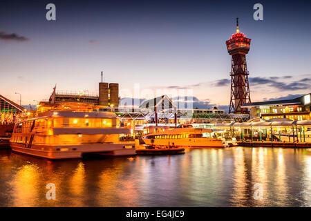 Fukuoka, Japan im bayside Hotel Skyline. - Stockfoto
