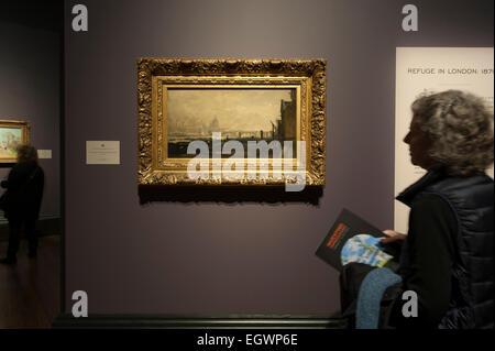 National Gallery, London, UK. 3. März 2015. Impressionismus zu erfinden. Eine Ausstellung gewidmet, Paul Durand - Stockfoto
