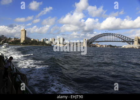 Sydney Harbour Bridge, Sydney, Australien - Stockfoto