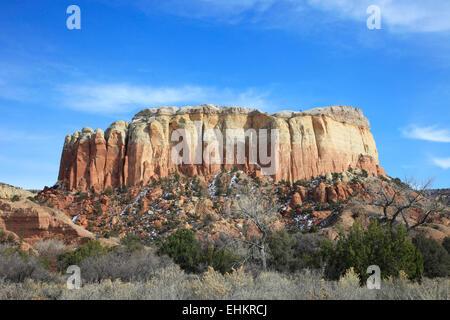 Küche Mesa Felsvorsprung New Mexico USA - Stockfoto