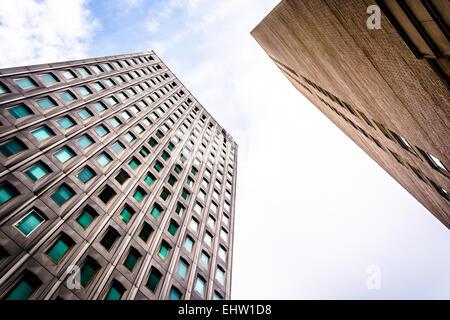 Wolkenkratzer in der Innenstadt von Baltimore, Maryland. - Stockfoto