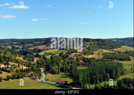 Belves Aquitanien Dordogne Frankreich Europa - Stockfoto