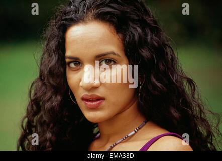 Anoushkar Shankar ist ein Grammy-nominierten indische Realejo Sitar-Spieler und Komponist. Sie ist die Tochter des - Stockfoto