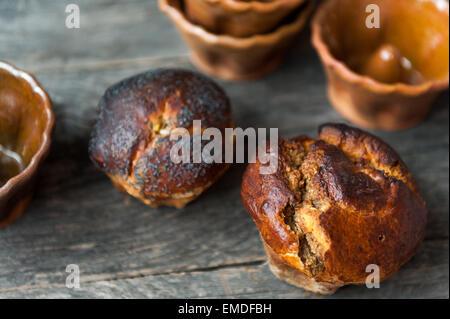 Traditionelle rumänische süßes Brot zu Ostern und Weihnachten - Stockfoto