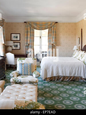 Zimmer im The Omni Homestead Resort - Stockfoto
