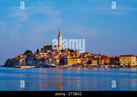 Kroatien, Istrien, Altstadt von Rovinj - Stockfoto