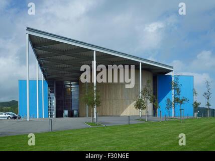 Akademie von Folkestone, Kent. Von Spencer de Grey von Foster & Partners, 2003-07 - Stockfoto