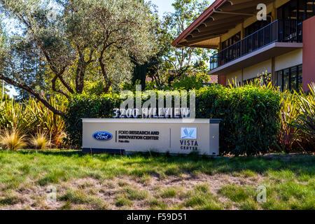 Ford Forschung und Innovation Center in Palo Alto in Kalifornien - Stockfoto