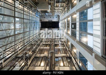Frankreich, Paris, Innenansicht des Institut du Monde Arabe - Stockfoto