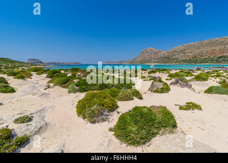 Lagune von Balos, Kreta, Lagune von Balos, Crete - Stockfoto