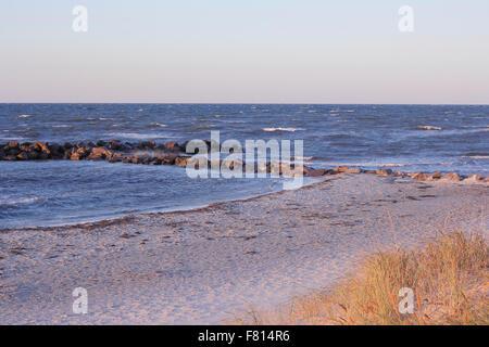 Blick auf Ostsee, Schönberger Strand, Schönberg (Holstein), Kreis Plön, Schleswig-Holstein, Deutschland - Stockfoto