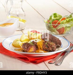 Meerrettich-Burger - Stockfoto