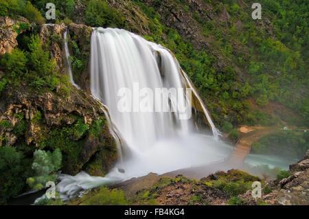 Krcic Wasserfälle - Wasserfall Krcic 16 - Stockfoto