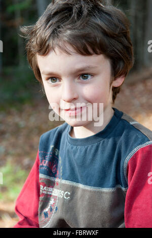 Junge, portrait - Stockfoto