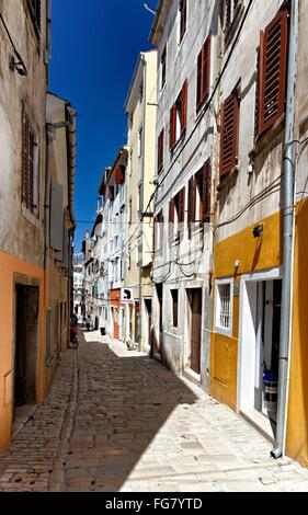 Geographie/Reisen, Kroatien, Istrien, Rovinj, Gasse in der Altstadt, Additional-Rights - Clearance-Info - Not-Available - Stockfoto