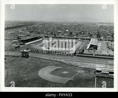 1979 - Municipal Stadium Sports City Autódromo Magdalena - ist das Stadion die größte Kapazität in der Sportanlage - Stockfoto