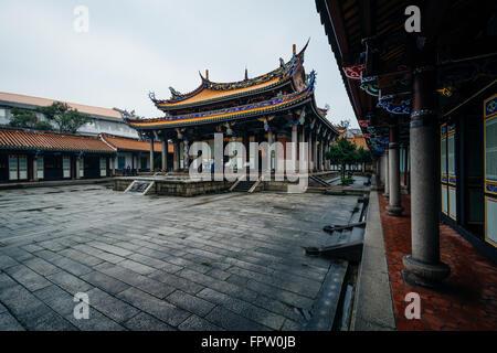 Exterieur des Taipei-Konfuzius-Tempel in Taipei, Taiwan. - Stockfoto