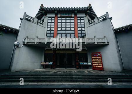 Gebäude an der Taipei-Konfuzius-Tempel in Taipei, Taiwan. - Stockfoto
