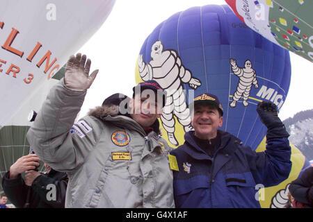 Piccard-Jones-Ballon-Festival - Stockfoto