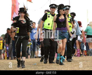Bestival 2013 - Tag zwei - Isle Of Wight - Stockfoto