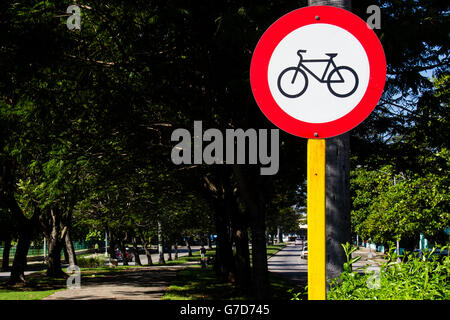 Fahrrad-Signal - Stockfoto