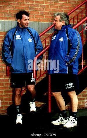 Fußball - FA Carling Premiership - Terry Venables erste Trainingseinheit mit Middlesbrough - Stockfoto