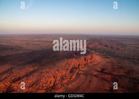 Kings Canyon in Australien - Stockfoto