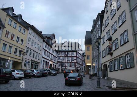 Altstadt in Wetzlar, Deutschland - Stockfoto