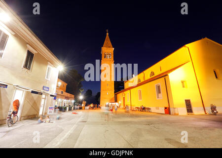 Kirche in Novigrad, Istrien - Stockfoto