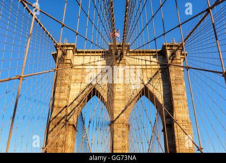 Brooklyn Bridge. - Stockfoto