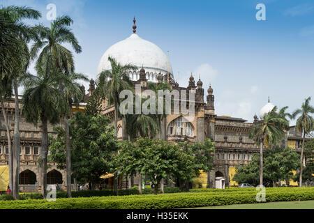 Chhatrapati Shivaji Maharaj Vastu Sangrahalaya (Prince Of Wales Museum der westlichen Indien), Mumbai (Bombay), - Stockfoto