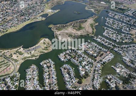 Luftaufnahme, Cape Town, Western Cape, Südafrika, Afrika - Stockfoto