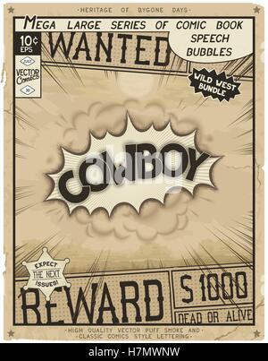 Comic-Buch-Stil-Plakat - Stockfoto