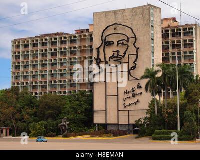 Plaza De La Revolución, Kuba - Stockfoto