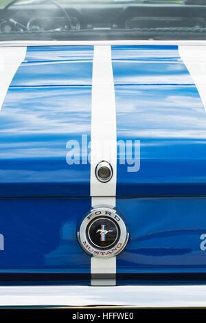 1966 Ford Mustang. Amerikanische Oldtimer - Stockfoto