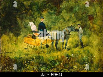 Die Falle Henri Toulouse-Lautrec - Stockfoto