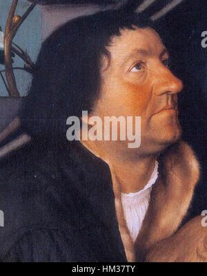 Hans Holbein der jüngere - Darmstädter Madonna - Jakob Meyer - Stockfoto