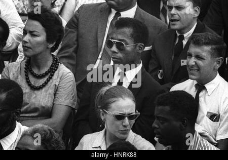 Ich bin nicht dein Negro ist ein 2016 amerikanischer Dokumentarfilm Regie: Raoul Peck. Basierend auf James Baldwin - Stockfoto