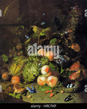 Ruysch, Rachel - Blume Stillleben - Stockfoto