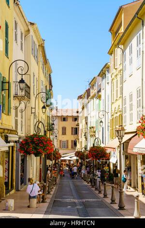 Antibes, Alpes-Maritimes, Cote d ' Azur, Provence, Côte d ' Azur, Frankreich, mediterran - Stockfoto
