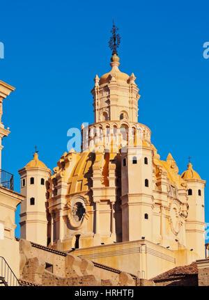 Detaillierte Ansicht der Kathedrale von Cordoba, Cordoba, Argentinien - Stockfoto