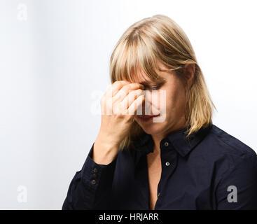 Kopfschmerzen - Stockfoto