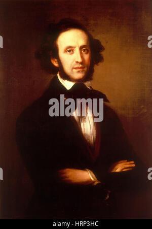 Felix Mendelssohn, deutscher Komponist - Stockfoto