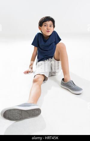 Süsser Boy denken - Stockfoto